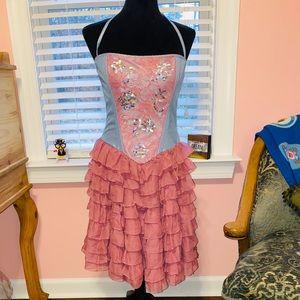 Betsey Johnson Corset Evening dress